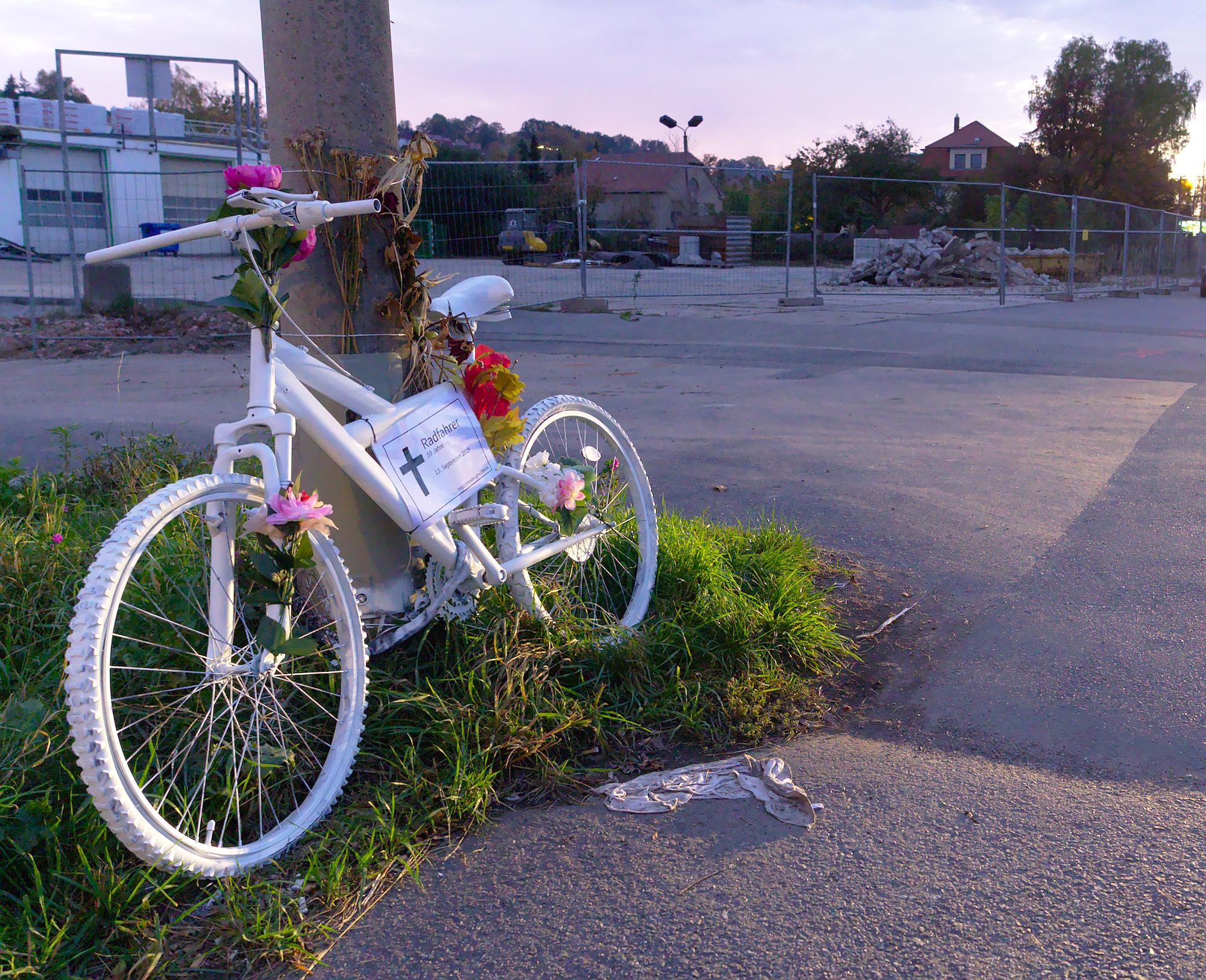 Ghostbike #11 in Heidenau